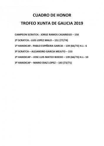 15 JUNIO -TROFEO XUNTA GALICIA MASC 2019
